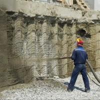 Торкретирование бетона